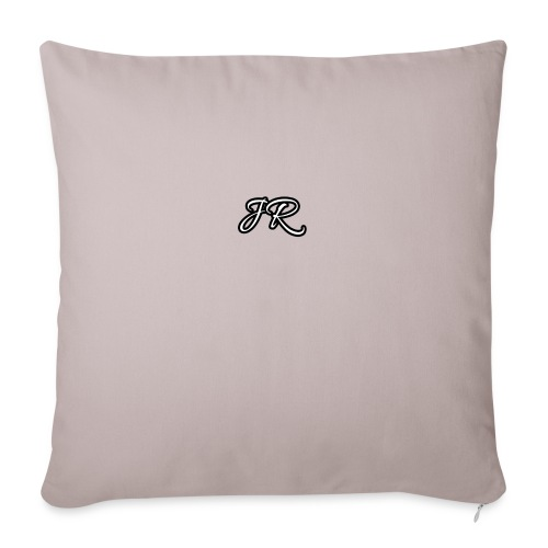 JR Logo Mens T-Shirt - Sofa pillowcase 17,3'' x 17,3'' (45 x 45 cm)