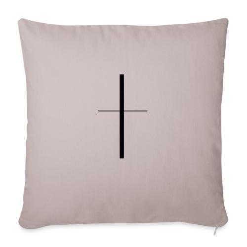 Croix - Housse de coussin décorative 45x 45cm