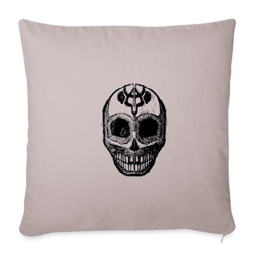 Skull of Discovery - Sofa pillowcase 17,3'' x 17,3'' (45 x 45 cm)