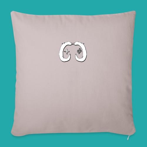 Crowd Control Logo - Sofa pillowcase 17,3'' x 17,3'' (45 x 45 cm)
