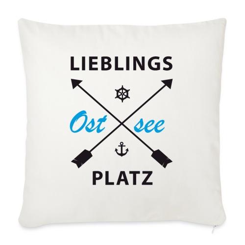 Lieblingsplatz Ostsee - Sofakissenbezug 44 x 44 cm