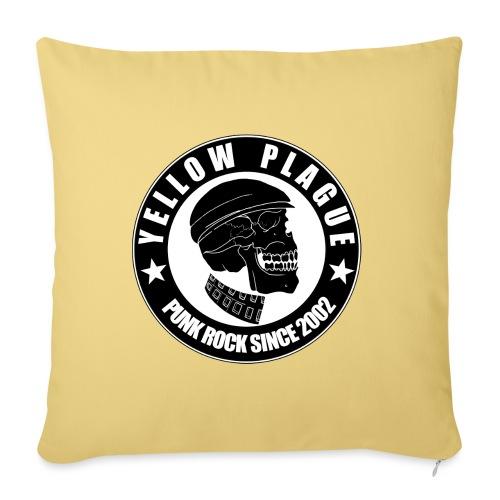 Yellow Plague - Sohvatyynyn päällinen 45 x 45 cm