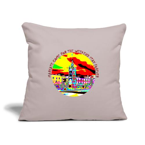 Come for the weekend! - Sofa pillowcase 17,3'' x 17,3'' (45 x 45 cm)