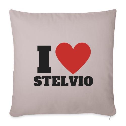 Ich liebe Stelvio - Sofakissenbezug 44 x 44 cm