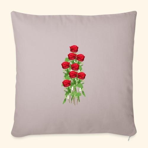 rote rosen - Sofakissenbezug 44 x 44 cm