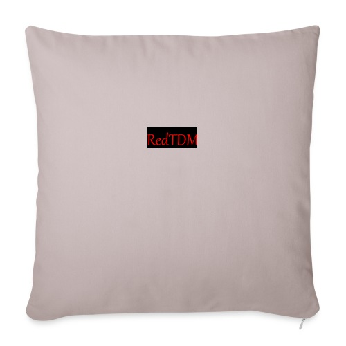 RedTDM - Sofa pillowcase 17,3'' x 17,3'' (45 x 45 cm)