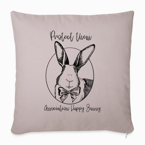 Happy Bunny Fundraiser - Sofa pillowcase 17,3'' x 17,3'' (45 x 45 cm)
