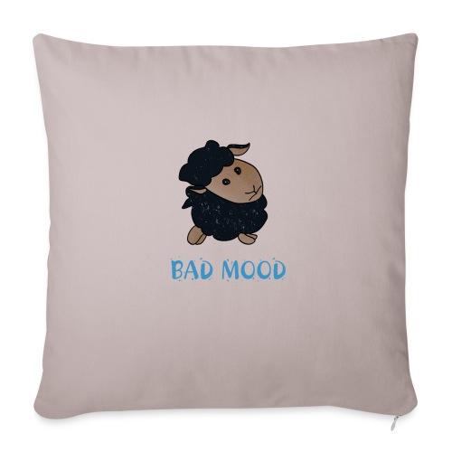 Badmood - Gaspard le petit mouton noir - Housse de coussin décorative 45x 45cm