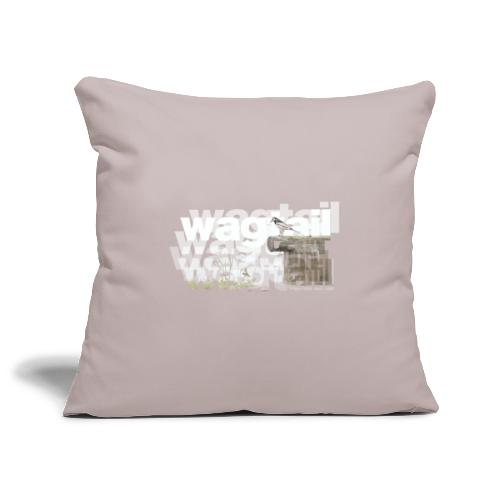 Wagtail - Sofa pillowcase 17,3'' x 17,3'' (45 x 45 cm)
