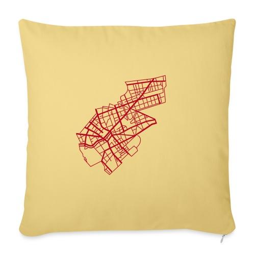 Berlino Kreuzberg - Copricuscino per divano, 45 x 45 cm
