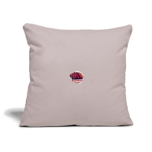 logo rexpect - Copricuscino per divano, 45 x 45 cm