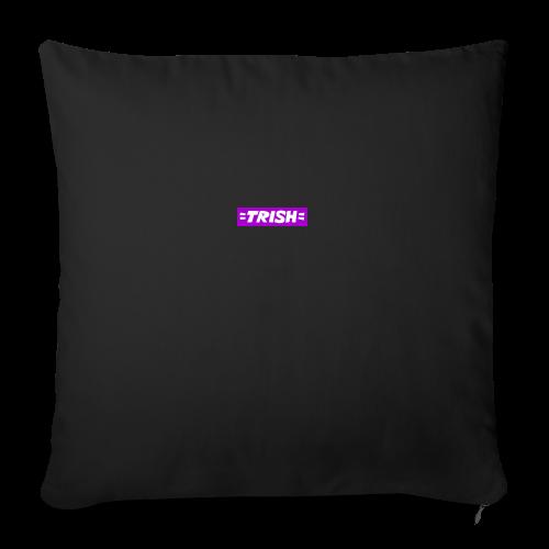 trish logo - Sofa pillowcase 17,3'' x 17,3'' (45 x 45 cm)