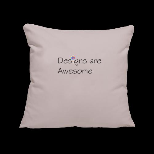 designs are awesome - Copricuscino per divano, 45 x 45 cm