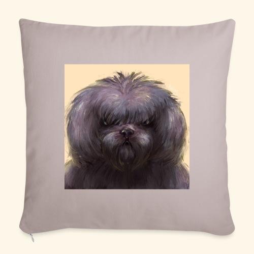 Dog Button - Soffkuddsöverdrag, 45 x 45 cm