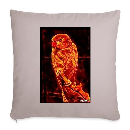 Bird in flames - Sohvatyynyn päällinen 45 x 45 cm