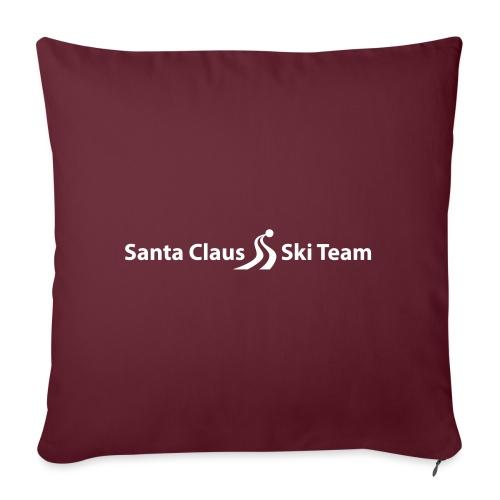 Santa Claus Team Logo - Sohvatyynyn päällinen 45 x 45 cm