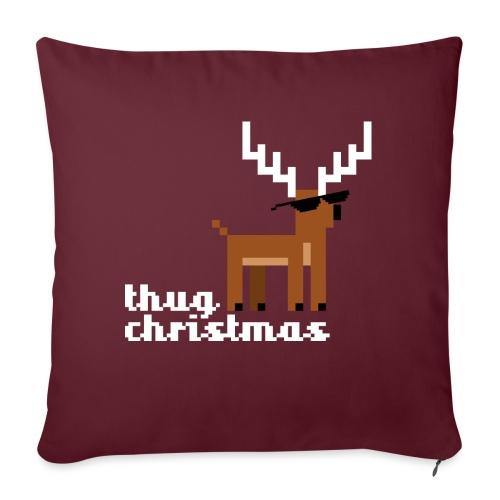 Christmas Xmas Deer Pixel Funny - Sofa pillowcase 17,3'' x 17,3'' (45 x 45 cm)