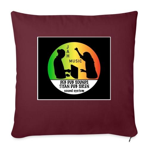 Deb Dub & Titan Dub Siren - Sofa pillowcase 17,3'' x 17,3'' (45 x 45 cm)