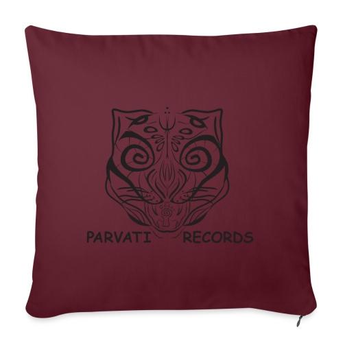 The Parvati Cat logo by Stringhedelic - Sofa pillowcase 17,3'' x 17,3'' (45 x 45 cm)