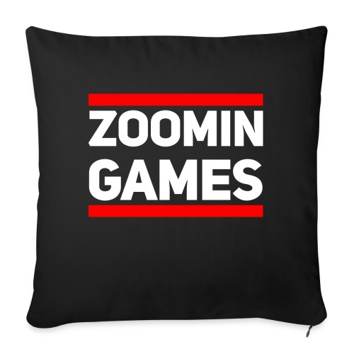 9815 2CRun ZG White - Sofa pillowcase 17,3'' x 17,3'' (45 x 45 cm)