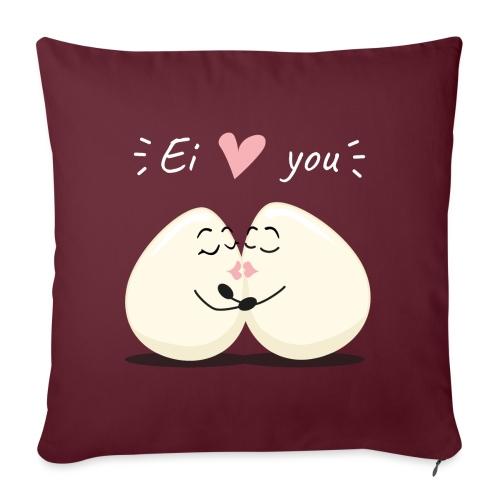 Ei LOVE You - Sofakissenbezug 44 x 44 cm