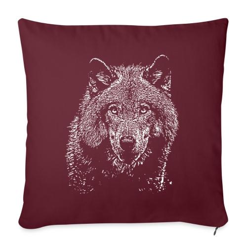 Wolf - Housse de coussin décorative 45x 45cm