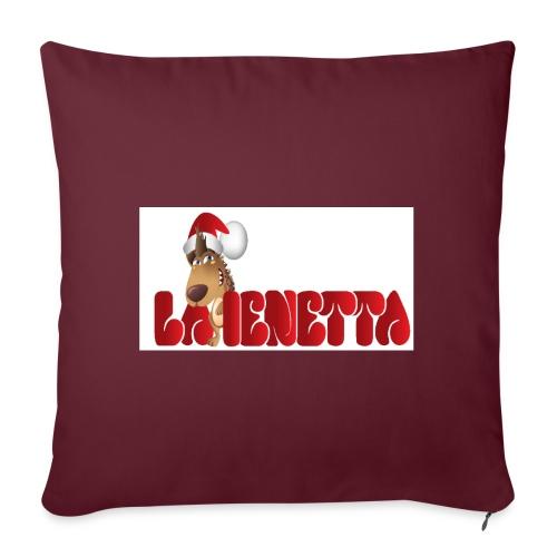 La Nuova Ienetta Natale - Copricuscino per divano, 45 x 45 cm