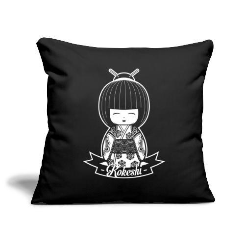 kokeshi - Copricuscino per divano, 45 x 45 cm