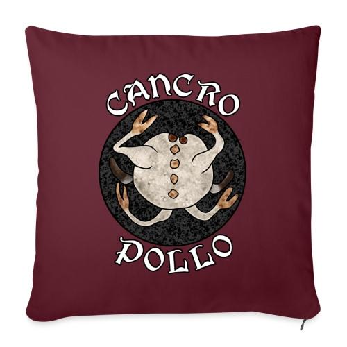 CancroPollo - Copricuscino per divano, 45 x 45 cm