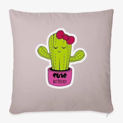 Cute Cactus Girl - Sofakissenbezug 44 x 44 cm