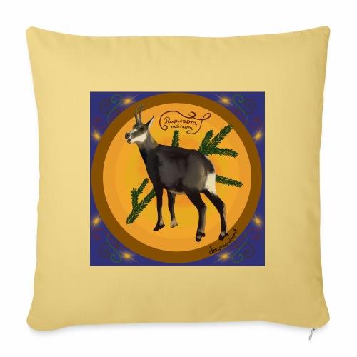 Le chamois - Housse de coussin décorative 45x 45cm