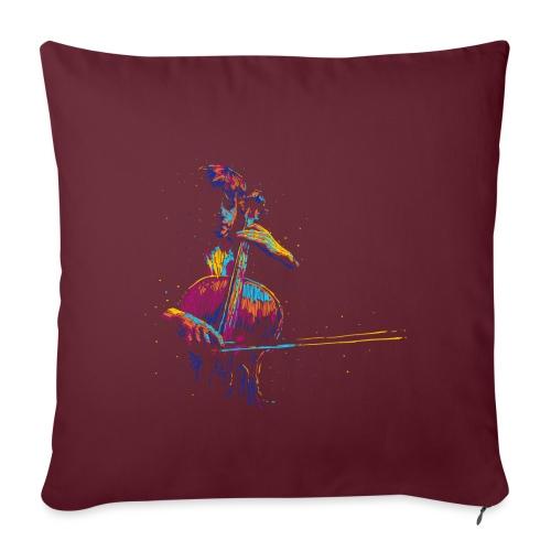 Muusic - Copricuscino per divano, 45 x 45 cm