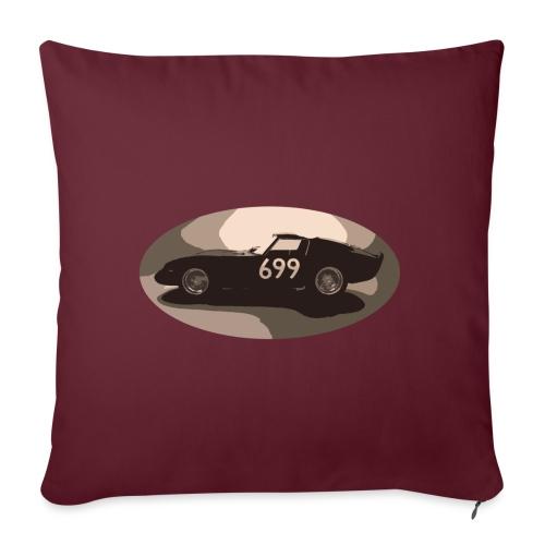 699 auto in stile vintage retrò vecchia corsa classica - Copricuscino per divano, 45 x 45 cm