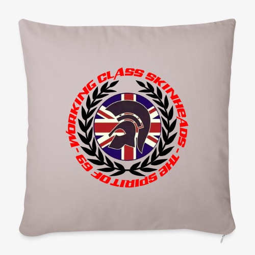 WORKING CLASS SKINHEAD JAMJACK LAUREL SPIRIT OF 69 - Sofa pillowcase 17,3'' x 17,3'' (45 x 45 cm)