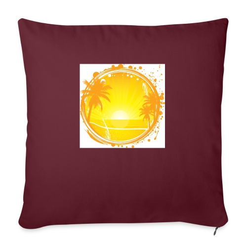 Sunburn - Sofa pillowcase 17,3'' x 17,3'' (45 x 45 cm)