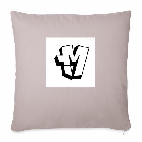 graffiti alphabet m - Sofa pillowcase 17,3'' x 17,3'' (45 x 45 cm)