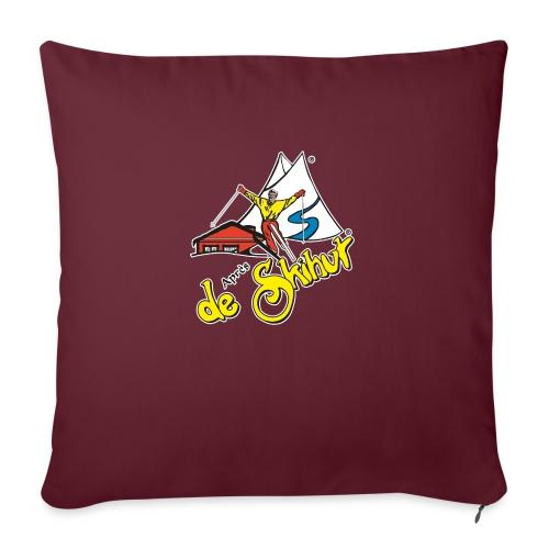 14787 fl tshirt logo skihut rotterdam - Sierkussenhoes, 45 x 45 cm
