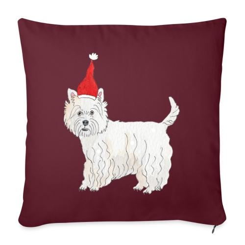West Highland White Terrier Christmas - Pudebetræk 45 x 45 cm