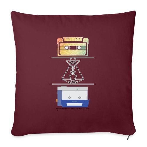 Nostalgia - Sofa pillowcase 17,3'' x 17,3'' (45 x 45 cm)