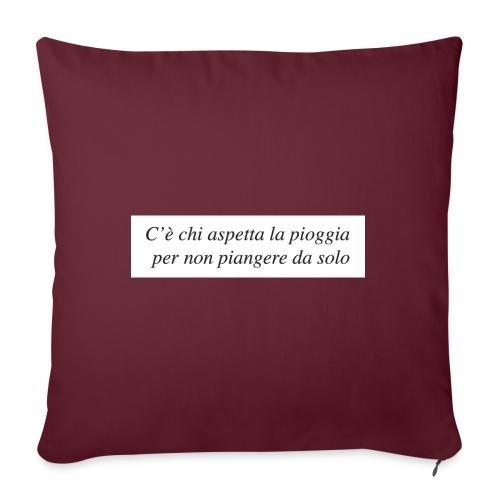 Pioggia - Copricuscino per divano, 45 x 45 cm