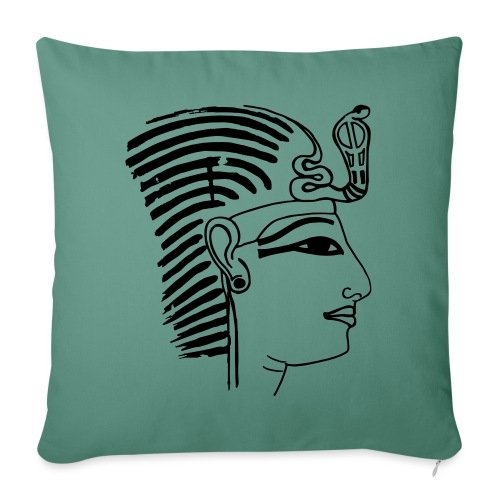 Pharao SethosI Ägypten - Sofakissenbezug 44 x 44 cm