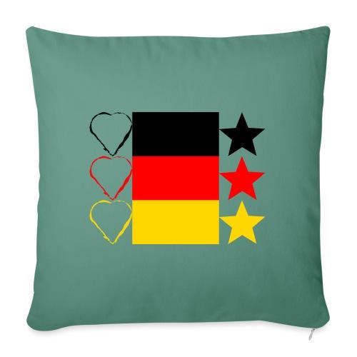 Liebe Deine Stars - Sofakissenbezug 44 x 44 cm