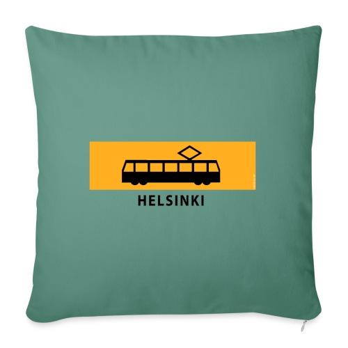 RATIKKA PYSÄKKI HELSINKI T-paidat ja lahjatuotteet - Sohvatyynyn päällinen 45 x 45 cm