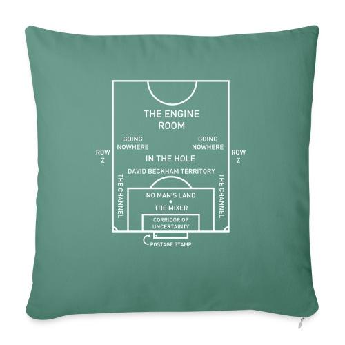 Football Pitch.png - Sofa pillowcase 17,3'' x 17,3'' (45 x 45 cm)