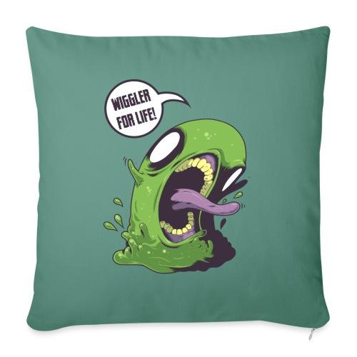 Wiggler For Life - Sofa pillowcase 17,3'' x 17,3'' (45 x 45 cm)
