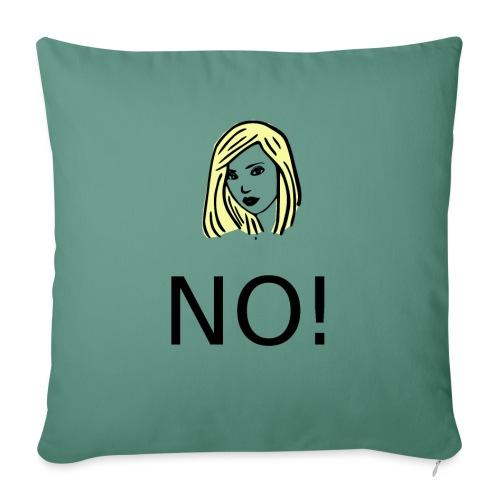 #NO tshirt - Copricuscino per divano, 45 x 45 cm