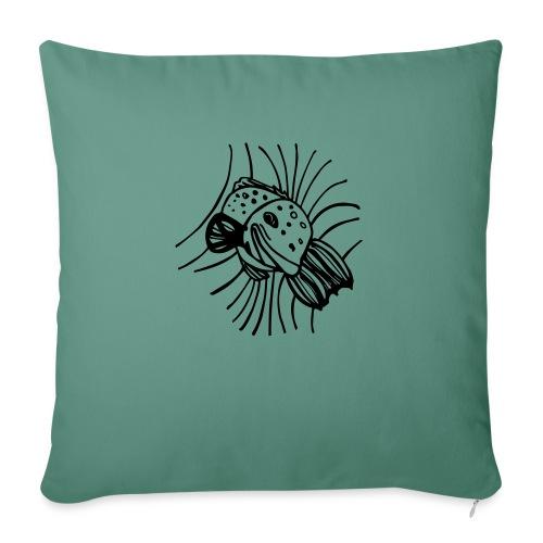 pesce1 - Copricuscino per divano, 45 x 45 cm