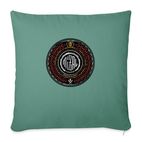 MizAl Blason - Housse de coussin décorative 45x 45cm