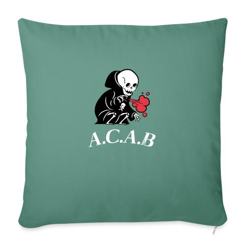 A.C.A.B la mort - Housse de coussin décorative 45x 45cm