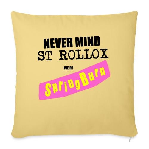 Never Mind St Rollox We're Springburn - Sofa pillowcase 17,3'' x 17,3'' (45 x 45 cm)